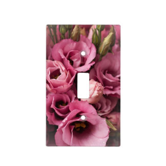 Cubierta de interruptor de la luz rosada de Lisian Cubierta Para Interruptor