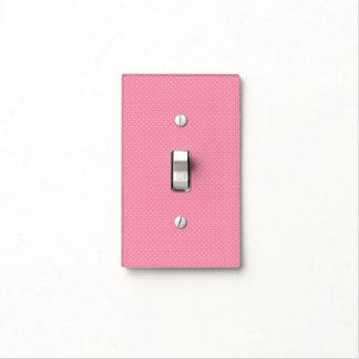 Cubierta de interruptor de la luz rosada del lunar cubierta para interruptor