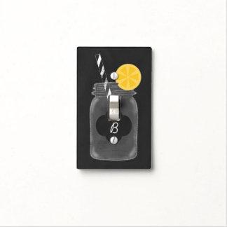 Cubierta de interruptor de la luz rústica del placa para interruptor