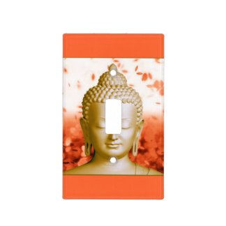 Cubierta de interruptor de la luz serena de Buda Placas Para Interruptor
