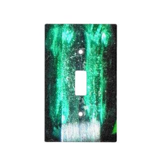 Cubierta de interruptor de la luz verde del Tourma Tapas Para Interruptores