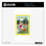 Cubierta de Iphoe de la viuda de golf Calcomanía Para iPhone 4S
