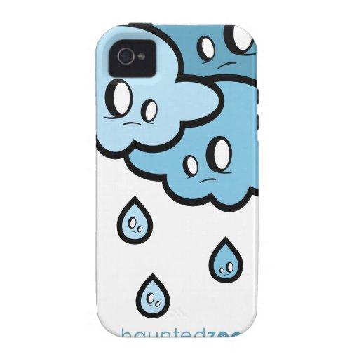 Cubierta de Iphone 4/4s de la lluvia por el parque Case-Mate iPhone 4 Carcasa