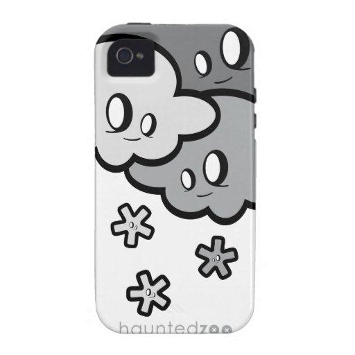 Cubierta de Iphone 4/4s de la nieve por el parque  iPhone 4 Fundas