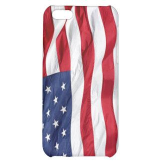 Cubierta de Iphone 4 de la bandera de América