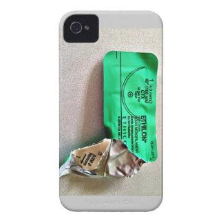 Cubierta de Iphone 4 de la envoltura de la sutura Carcasa Para iPhone 4 De Case-Mate
