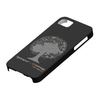 Cubierta de Iphone 4 del Torrente-Daño iPhone 5 Carcasa