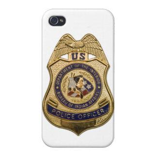 Cubierta de IPhone 5 de la insignia del oficial de iPhone 4/4S Carcasa