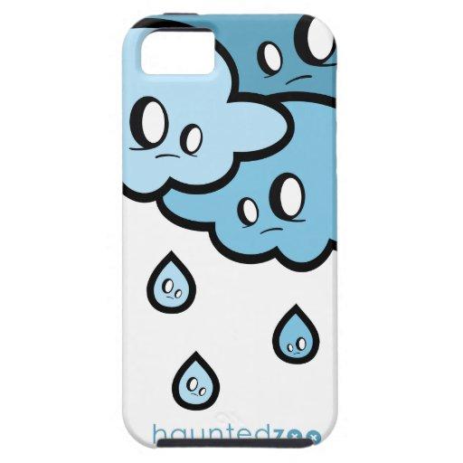 Cubierta de Iphone 5 de la lluvia por el parque zo iPhone 5 Fundas