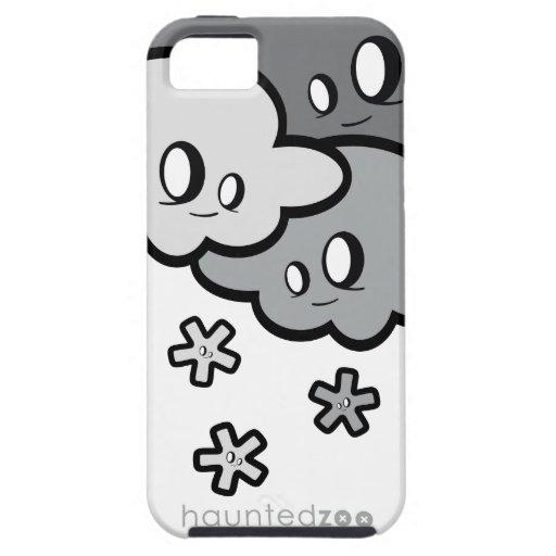 Cubierta de Iphone 5 de la nieve por el parque zoo iPhone 5 Protector