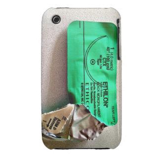 Cubierta de Iphone de la envoltura de la sutura iPhone 3 Carcasas