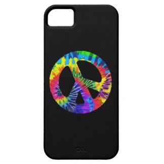 Cubierta de IPhone de la paz del teñido anudado iPhone 5 Carcasas