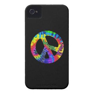 Cubierta de IPhone de la paz del teñido anudado iPhone 4 Funda