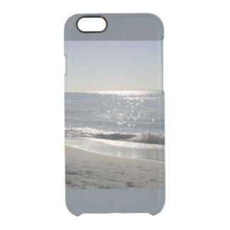 Cubierta de Iphone de la playa por los bbillips Funda Clear Para iPhone 6/6S