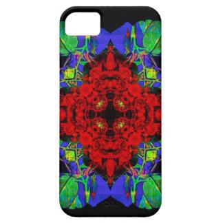 Cubierta de IPhone de las flores del navidad Funda Para iPhone SE/5/5s