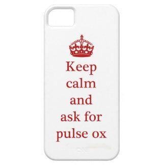 Cubierta de Iphone del buey del pulso Funda Para iPhone SE/5/5s