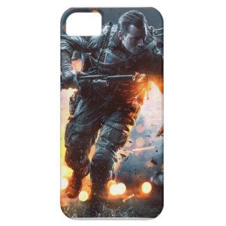 Cubierta de Iphone del campo de batalla 4 iPhone 5 Carcasa