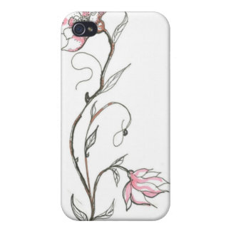 Cubierta de Iphone del flower power iPhone 4/4S Fundas