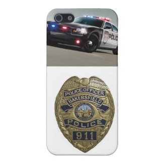 Cubierta de IPhone del oficial de policía iPhone 5 Funda