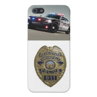 Cubierta de IPhone del oficial de policía iPhone 5 Fundas