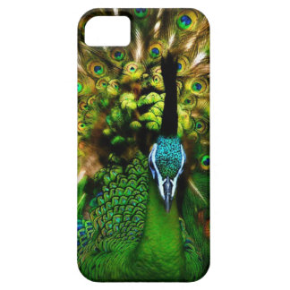 Cubierta de Iphone del pavo real Funda Para iPhone 5 Barely There