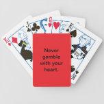 cubierta de juego baraja de cartas