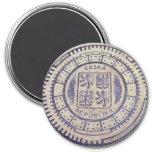Cubierta de la alcantarilla del escudo de armas de imán de frigorífico