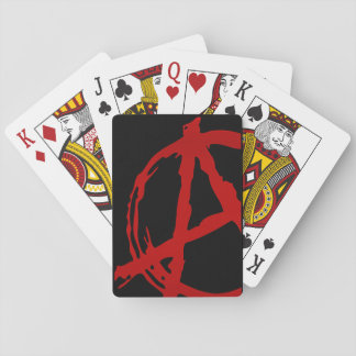 Cubierta de la anarquía cartas de juego