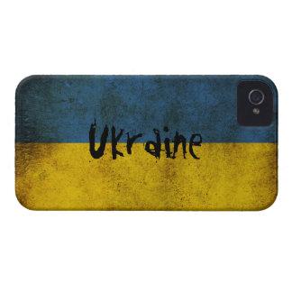 Cubierta de la bandera de Ucrania para el iPhone 4 iPhone 4 Cárcasas