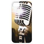Cubierta de la caja del micrófono iPhone 5 fundas