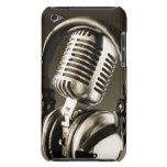 Cubierta de la caja del micrófono y del auricular barely there iPod cárcasa
