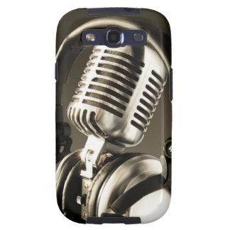 Cubierta de la caja del micrófono y del auricular samsung galaxy SIII funda
