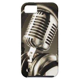 Cubierta de la caja del micrófono y del auricular iPhone 5 cárcasa