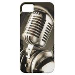 Cubierta de la caja del micrófono y del auricular iPhone 5 funda