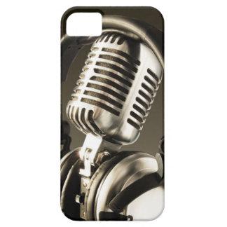 Cubierta de la caja del micrófono y del auricular iPhone 5 carcasas