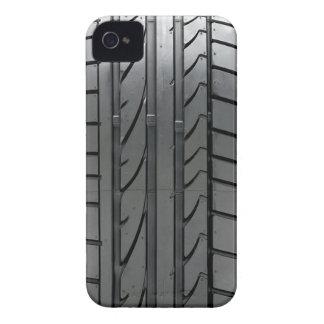 Cubierta de la caja del neumático de coche del aut iPhone 4 Case-Mate cárcasas