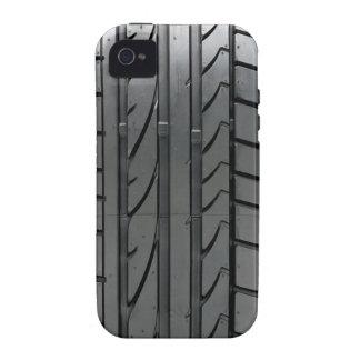 Cubierta de la caja del neumático de coche del aut iPhone 4/4S carcasa