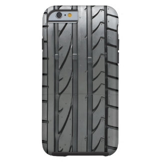 Cubierta de la caja del neumático de coche del funda de iPhone 6 tough