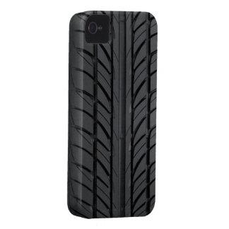 Cubierta de la caja del neumático de coche Case-Mate iPhone 4 cobertura