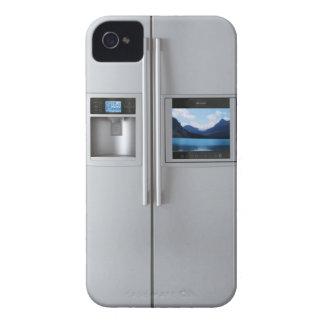 Cubierta de la caja del refrigerador Case-Mate iPhone 4 funda