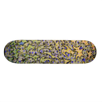 Cubierta de la cal del limón skate board