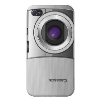cubierta de la cámara digital 4 iPhone 4 coberturas