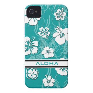 Cubierta de la casamata ID™ Apple 4/4S del hibisco iPhone 4 Funda