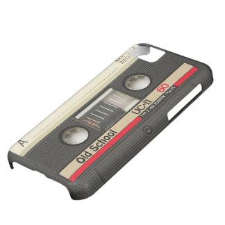 cubierta de la cinta de casete de la escuela vieja