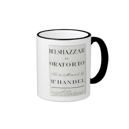 Cubierta de la cuenta para el Belshazzar por Hande Tazas
