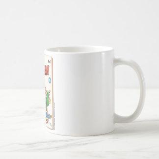 Cubierta de la época dorada del portamaletas de taza clásica