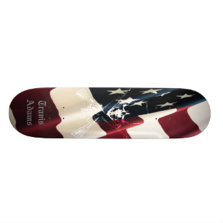 Cubierta de la firma de Travis Adams Skateboard