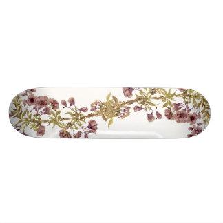 Cubierta de la flor de cerezo patines personalizados