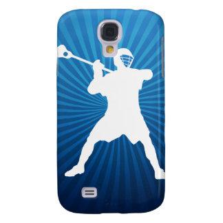 Cubierta de la galaxia del jugador de LaCrosse Funda Para Galaxy S4
