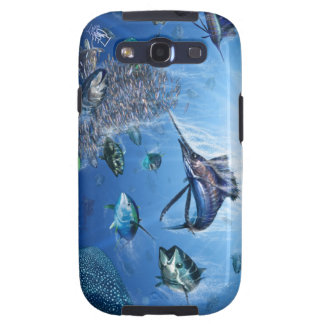 Cubierta de la galaxia S3 de Samsung del frenesí d Galaxy S3 Fundas